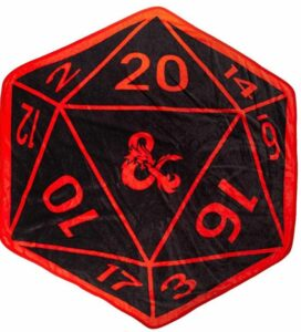d20 throw blanket