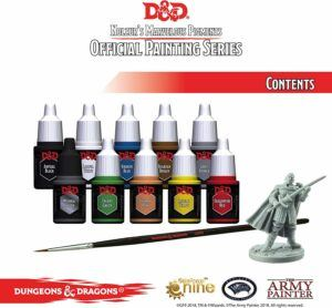 dnd miniatire paint set