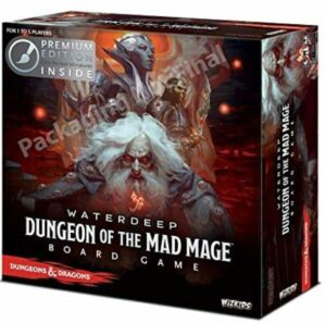 dungeon of the mad mage dnd board game