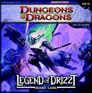 legend of drizzt board game dnd