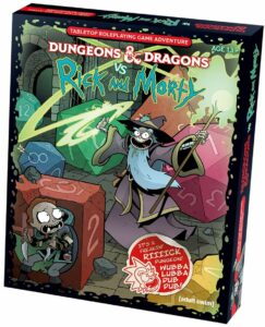 rick and morty vs dungeons and dragons dnd