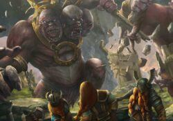 dwarves war giant ettin