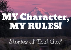my character my rules